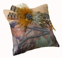 Camo Wedding Ring Cushion